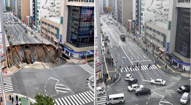 A 1,5 milliós városban beszakadt egy négysávos út. Tippelj mennyi idő kellett a helyreállításhoz!