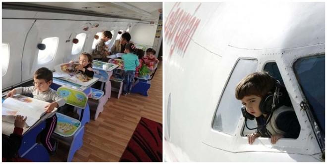20-an járhatnak a repülőgép óvodába. Te is beíratnád oda a gyerekedet?
