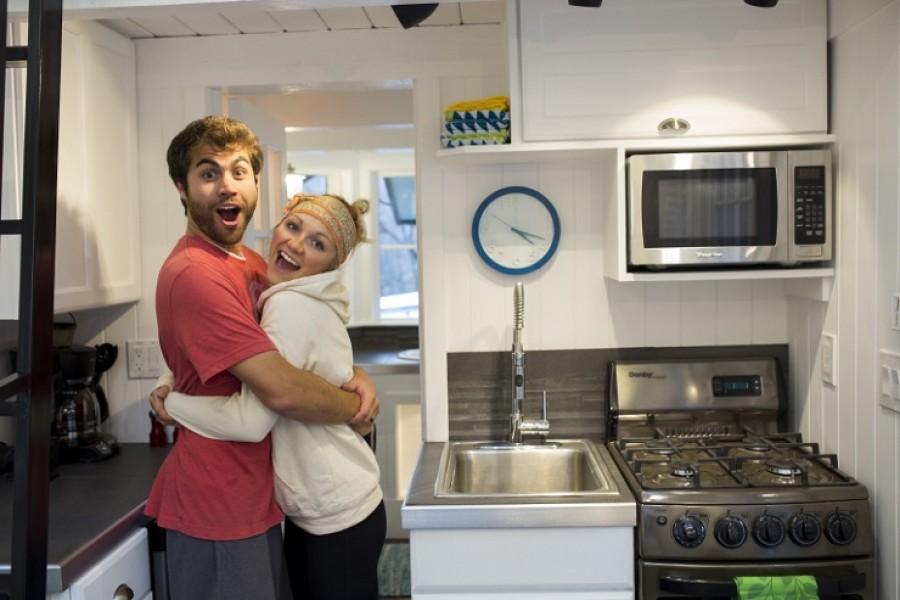 Egy fiatal pár szinte a semmiből varázsolta ezt az összkomfortos házat