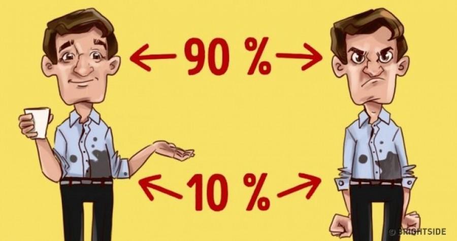 Alkalmazd a 90/10 elvet, és az egész életed megváltozik! Meglátod, minden egyszerűbbnek tűnik majd.