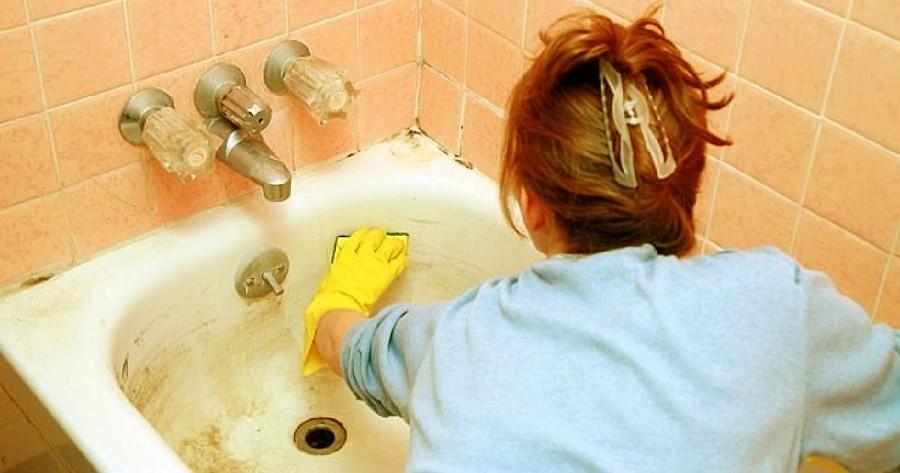 Ezzel az egyszerű módszerrel könnyedén eltüntetheted a rozsdafoltokat a kádról és a zuhanyzóról!