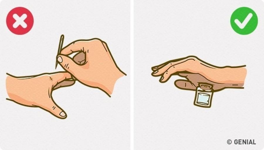 Így szedd ki a szálkát a kezedből