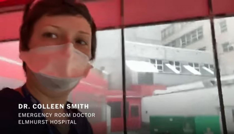 Egy fiatal doktornő a New York-i állapotokról beszél - a végén elsírja magát... (videó)