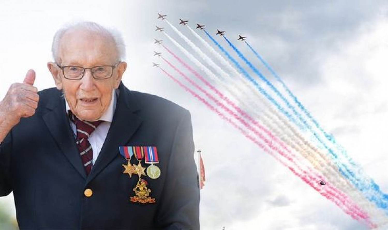 Lovag lett a 100 éves veterán